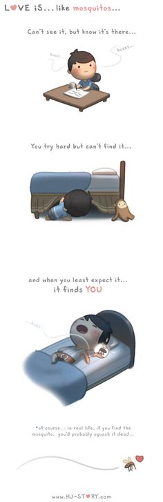 Check out the comic HJ-Story :: Love is. Hj Story, Chibi Couple, Couple Cartoon, Love Is Sweet, What Is Love, My Love, Cute Love Stories, Love Story, Anime Chibi