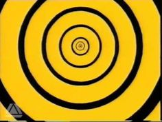 A CBBC ident used between 1997-1999. Adhering to the yellow and black colour palette of that time, it makes use of the contrast by generating an abstract, spiral animation.