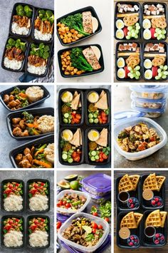 Meal Prep recipes are a great way to encourage healthy eating.