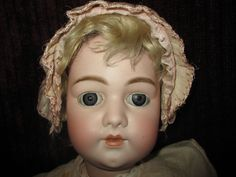 """28"""" Antique Simon & Halbig #1079 Marked Head And Mint Body"""