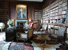 Uncle Barlow's Study