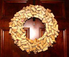 Wine Cork Wreath | DIY