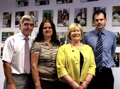 The UNIEILab Team - July 2008 - Steve Upcraft, Maggie Rouse, Ann Vickers & Dan Edge.