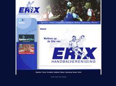 Website voor handbal vereniging Erix Lichtenvoorde.  http://www.hverix.nl