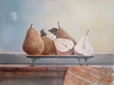 Sergey Temerev   Still life watercolors