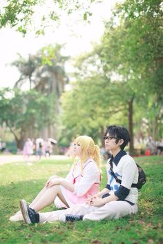"""This """"Your Lie in April"""" cosplay is AMAZING!!"""