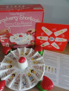 Who didn't have this Strawberry Shortcake game? One of our favorites! :-)