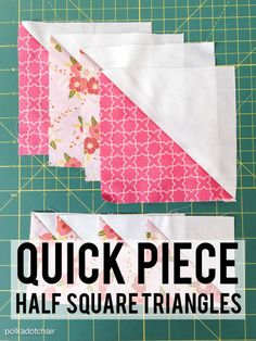 Do you have an itch to stitch? Do you feel guilty if you're not quilting? Half square triangles are the cornerstone of quilting, but they can be intimidating, even for an experienced quilter. Luckily, eBay has boiled it down to a simple yet comprehensive process. Read on as we take you back to square one and help you create a beautiful patchwork.