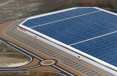 Tesla's Gigafactory will produce as much renewable energy as it uses (net zero energy) : TreeHugger