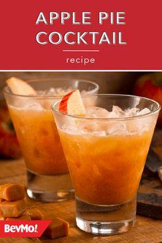 An apple a day keeps the doctor away, so why not try this Apple Pie Cocktail from BevMo! Drizzle a little caramel sauce on top to bring out the tasty fall flavors of this drink recipe.