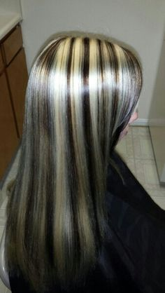 2 color highlightblonde slices and dark blonde weave with solid my highlight lowlight erin mims pmusecretfo Gallery