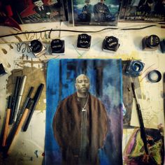 Working on Nate Dogg - Nate Dogg, Artworks, Painting, Painting Art, Paintings, Painted Canvas, Drawings, Art Pieces