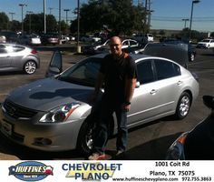 Larry was very informative and knowledge regarding what I was looking for today when I came to look at cars. He made the purchase very streamlined and simple. I highly recommend. - SCOTT BRANDT Wednesday, October 23, 2013 http://www.huffineschevyplano.com/?utm_source=Flickr&utm_medium=DMaxxPhoto&utm_campaign=DeliveryMaxx