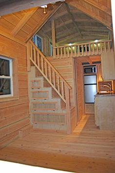 8 Wide Loft Rich The Cabin Man Tiny House With Built