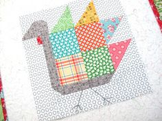 Bee In My Bonnet: Tom Turkey quilt block Tutorial!!! ...