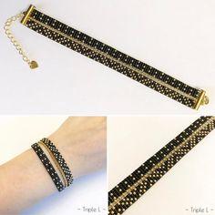 """139 mentions J'aime, 10 commentaires - Mag (@triple_l_de_mag) sur Instagram : """"Un nouveau bracelet multirangs est à retrouver dans mes boutiques Etsy et A little Market !…"""""""