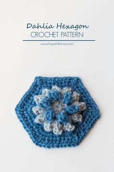 Dahlia Hexagon - Free Crochet Pattern