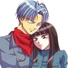 Mai and Trunks