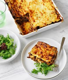 Australian Gourmet Traveller Italian main course pasta recipe for oxtail lasagne