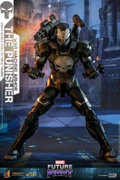 Pre-Order Hot Toys Marvel Punisher War Machine Armor Diecast, Video Game Collectibles, by Hot Toys, This is a Pre-Order item Pre-Order items require a minimum 10 deposit. This items selling price is A charge of is required when. Punisher Marvel, Ms Marvel, Marvel Heroes, Marvel Comics, Disney Marvel, Punisher Netflix, Punisher Skull, Star Citizen, Marvel Comic Character