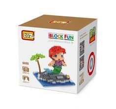LOZ 9499 Fairy Tales Mermaid Underwater world Diamond Bricks Minifigures Building Block Compatible with Legoe //Price: $US $7.99 & FREE Shipping //     #toyz24