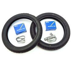 Honda CB450 CB500 CB750 Dunlop K70 Tire Set Tires Tubes and Rim Strips