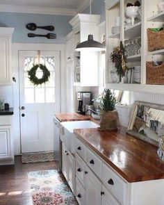 35 awesome shabby chic kitchen designs accessories and for Nuovo stile cottage in inghilterra
