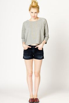 Studded Sweatshirt.