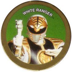 White Ranger Pog