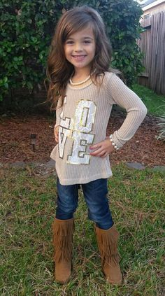 Love top, hoodie, ryleigh rue, Kids clothing, boutique, online shopping, Online boutique