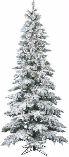 Flocked Utica Fir Christmas Tree with 600 Warm White LED Lights Holiday Decor #ChristmasTree #Artificial #Flocked #Utica #UticaFir #WarmLights #PreLit #LEDLights #Christmas #ChristmasDecor #Holiday #Seasonal #HomeDecor #HolidayDecor