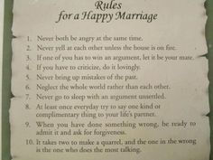 Happy Marriage....oh how this is so true! No marriage is perfect, it takes work and the love you have for one another to keep your relationship strong.
