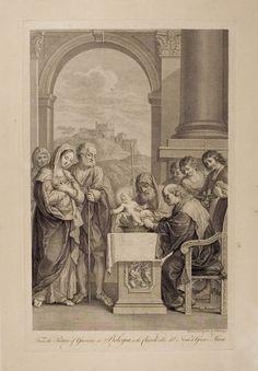 ❤ - Circumcision. Francesco Bartolozzi. After Guercino (Giovanni Francesco Barbieri).