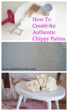 creating patina with paint