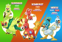 As I promised to you, the first evolutions for Slobud, Confire and Floduck are here! ALL-NEW STARTER EVOLUTIONS Pokemon Fake, First Pokemon, Pokemon Fan Art, New Pokemon, Pokemon Fusion, Pokemon Sun, Starter Evolutions, Pokemon Original, Water Fight