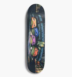 Santa Cruz Skateboards - X Tmnt Poster Everslick 825 Deck Skate And Destroy, Skateboard Design, Bike Life, Skateboards, Tmnt, Digital Marketing, Deck, Things To Sell, Cute