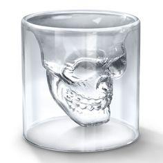 Skull Shot Glass #luvocracy #skull #design