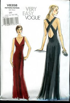See other lovely evening gown patterns at Pages & Print