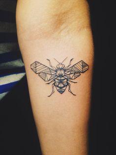 A bee #tattoo