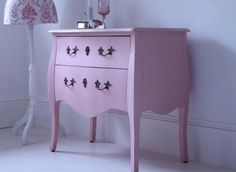 French Pink Chest of Drawers by Out There Interiors at Bouf.com