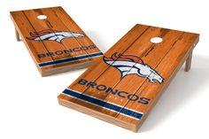 Denver Broncos Cornhole Board Set - Vintage http://prolinetailgating.com/