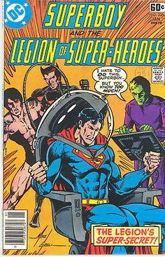 SUPERBOY AND THE LEGION OF SUPER HEROES 235-242, 244, 243 - DC COMICS 1978 | eBay Indrajal Comics, Star Comics, Dc Comics Collection, Nostalgia, Legion Of Superheroes, Classic Comics, Marvel Comic Books, Illustrations, Comic Book Covers