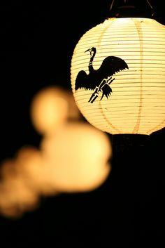 Lanterns by Teruhide Tomori, via Flickr