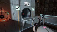 Portal (PC)  Куда же без него ? :) Мой милый куб-компаньон, я любила тебя! :,(