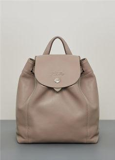 60bdc1e7b9 ΔΕΡΜΑΤΙΝΟ ΜΙΝΙ ΣΑΚΙΔΙΟ ΠΛΑΤΗΣ backpack Longchamp