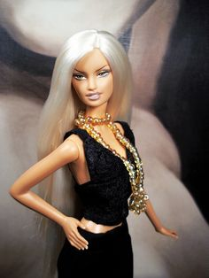 Versace Barbie doll [= by Salvador L.A.