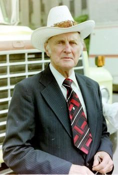 Bill Monroe Photographed by Ron Newcomer