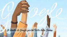 Il doodle di Google per la Giornata Internazionale della Donna è un omaggio a tutte le Donne che nella storia sono state pioniere ed un esempio per tutti. Happy Woman Day, Happy Women, Take The Opportunity, Google Doodles, Uk News, Ladies Day, Animated Gif, Animation, History