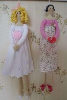 Crochet Tilda's with link to original pattern!Make yours!