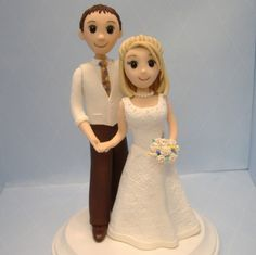 This listing is reserved for Nicole. If you are not Nicole, please dont purchase this. Thanks!    Charming wedding cake topper custom-made in